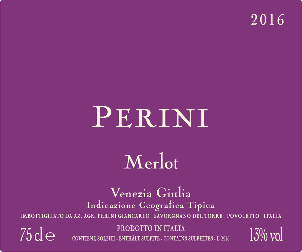 MERLOT IGT 2016 - Italian Red Wine